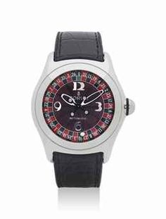 CORUM. A STAINLESS STEEL EDITION AUTOMATIC WRISTWATCH WITH SWEEP CENTRE SECONDS