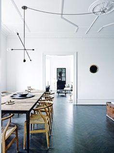 House tour: a spacious 19th-century apartment gets a cool Nordic makeover - Vogue Living