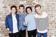 The vamps: Connor, James, Brad, Tristan