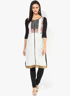 Buy W White Printed Kurta for Women Online India, Best Prices, Reviews | XW574WA47GIUINDFAS