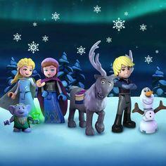 Frozen 2 but it's this art style Frozen Elsa And Anna, Olaf Frozen, Disney Frozen, Disney Pixar, Lego Frozen, Frozen Ever After, Cute Princess, Disney Wallpaper, Animation