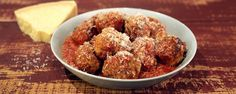 This dish will always impress your family!   ingredients MARIO'S MEATBALLS 3/4 pound ground pork 3/4 pound ground beef (80/20) 1 1/2 cups panko breadcrumbs (soaked in milk) 3 eggs (beaten) 1/2 cup parsley (chopped) 1/2 cup marjoram (chopped) 3 cloves garlic (minced) 3/4 cup Pecorino Romano cheese (grated, plus more to serve)