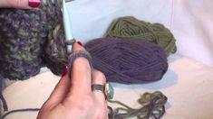 Πανεύκολο κασκόλ με βελόνες !! Knitting Patterns, Knitting Tutorials, Dreadlocks, Diy Crafts, Hair Styles, Crochet, Macrame, Youtube, Beauty