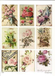 vintage knipvel 6 flowers Welkom bij Hobbyvoordelig online