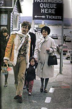 Con Mimi y Julian