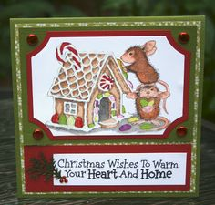 Playing with Cards: House Mouse Cards