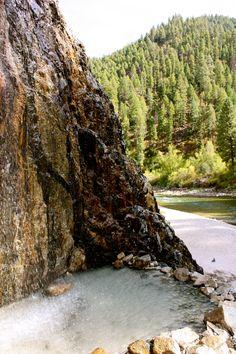 Idaho Hot Springs and waterfall!
