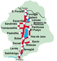 Mapa De Huesca Pirineos.Las 34 Mejores Imagenes De Pirineos Valle De Tena