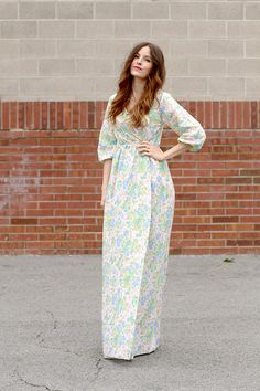 DIY: peasant maxi wrap dress<---Sorry, I think this is just straight up ugly