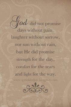 God is Faithful! Praise His Name!
