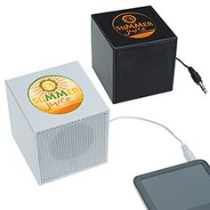 Norwood by BIC Graphic Mini Cube Speaker (31776). #promoproducts