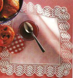 My Work: Crochet Edging. Crochet Boarders, Crochet Lace Edging, Thread Crochet, Filet Crochet, Lace Knitting, Crochet Doilies, Crochet Flowers, Crochet Home, Love Crochet