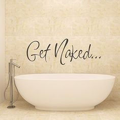 V&C Designs Ltd (TM) Get Naked Bathroom Shower Room Wall…