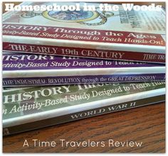 A review of our Time Travelers American History series!