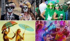 Cada país tem suas celebrações típicas e uma maneira muito particular de celebrar a sua cultura. Mas, apesar disso, uma coisa parece ser comum a muitas nações: são as festas de rua, em que tradição e estilo se mesclam na hora de celebrar. Selecionamos algumas das melhores festas de rua do mundo (sim, o nosso lindo Carnaval tá na lista!) ...