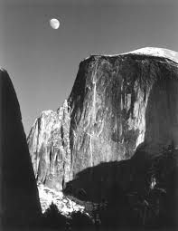 Half Dome, Yosemite, Ansel Adams