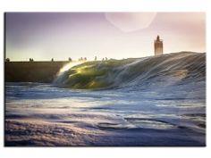 Toile imprimée, Surf Capbreton, photographie Aquashot