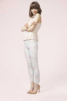Pretty Peplum Top (http://www.nastygal.com/lookbooks_sugar-high/pretty-peplum-top) and Faded Rose Skinny Jeans (http://www.nastygal.com/lookbooks_sugar-high/faded-rose-skinny-jeans)