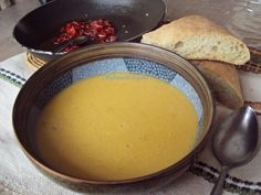 Moroccan Bissara chickpea soup