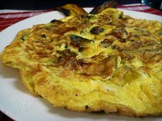 Plantains Omelette - Recipe - A quick and easy recipe for an omelette with a Caribbean flavor! The sweetness of slowly cooked onions and plantains makes this recipe ideal for a yummy summer breakfast.