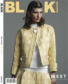 Black Magazine #16 Spring 2012 Covers (Andrej by Mariah Jelena) (Black Magazine)