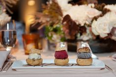 Follow @FSToronto for more wedding inspiration!   Photo Credit: 5ive15ifteen #TorontoWeddings #FSWeddings #Fourseasons #Weddings #Toronto #Dessert #Sweets
