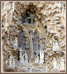 Amazing architecture by Barcelona's Antoni Gaudi