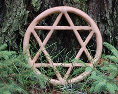 Wooden Hexagram Ash Wood by Powerofwood on Etsy Ash, Etsy Seller, Spirituality, Wood, Creative, Taxidermy, Handmade, Vintage, Religion