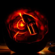 Tardis pumpkin carving, so cool