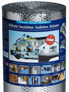 Reflectix reflective insulation - instructions here for pillow case + cardboard + insulation for windows
