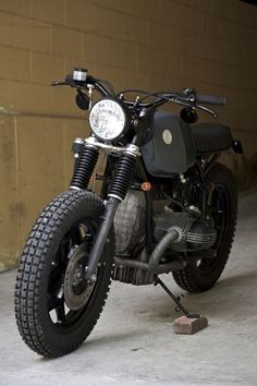 Custom Bmw R80 Motorcycle~
