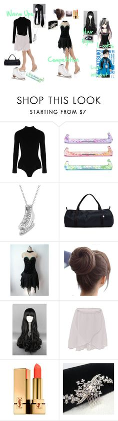 """Yuri!!! on Ice Oc #2"" by bec1995 ❤ liked on Polyvore featuring Yummie by Heather Thomson, Ÿù, Allurez, American Apparel, Yves Saint Laurent and country"