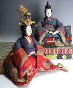 Antique Early 1900s Japanese Hina Dolls Gofun Large Size  Fast & Safe Postage in Antiques, Asian Antiques, Japan, Dolls | eBay