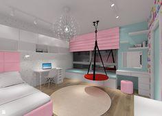 Projekt pokoju dla dziewczynki. - zdjęcie od MKdezere - Pokój dziecka - Styl Nowoczesny - MKdezere