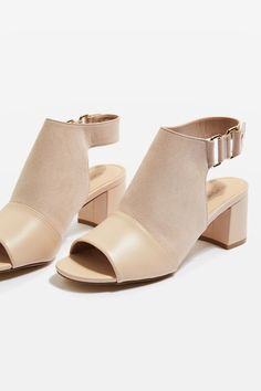 Get trending shoes at Topshop. From wear-with-everything mid-heels and sandals, to leather boots you'll want to live in, shop online for free click & collect. Heeled Mules, Fashion Shoes, Asos, Topshop, Duke, Sandals, Heels, Shopping, Collection