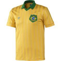 37ddf0cac62 adidas Camiseta de Fútbol Retro Brasil