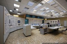 Master Control Room Of Kalinin Nuclear Power Plant, Russia