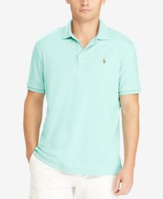 Polo Ralph Lauren Men's Classic-Fit Soft-Touch Polo - Green XXL