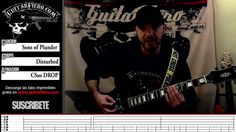 "Como tocar ""Sons of Plunder"" (Disturbed) by GuitarFiero"