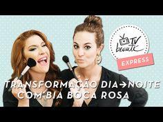 TV Beauté Expresss: Transformação dia – noite com Bia Boca Rosa – o cabelo! | Dia de Beauté