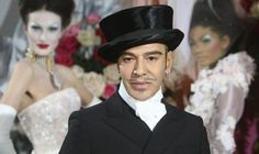 Fashion designer John Galliano #2010FashionTrends