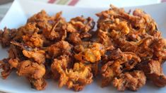 This yummy onions and besan fried together makes a lovely tea-time snack.