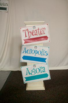 Athens VBS 2013 directional signs  could the teens make these for us?