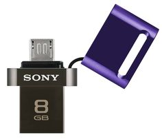 Sony launched first ever pen drive for smartphones and tablets - 8GB microvault