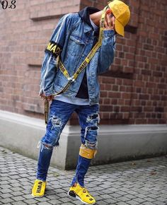 I've seen someone with this fit in person... it's aight #mensoutfitsurban