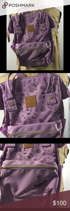 063791a3b13 New without tag Anello Disney Backpack Authentic Anello Aladdin backpack.  Dimensions:14.2