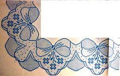 crochet em revista: Barras de flores