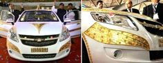 First look of Vibrant Gujarat's vibrant gold car: bestautoline.com