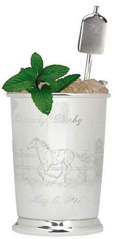 2,000 dollar Woodford Reserve Kentucky Derby Mint Julep Cup.