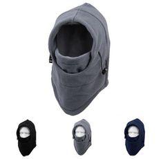 pasamontañas, balaclava tipo hoodie ajustable. microfibra.